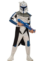 Clone Captain Rex Boys Star Wars Costume