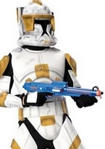 Clonetrooper Cody Star War Deluxe Boys Costume