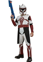 Clone Trooper Boys Commander  Costume