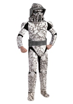 Deluxe Boys Star War Clone War Arf Trooper Costume