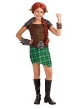 Shrek Fiona Girls Costume