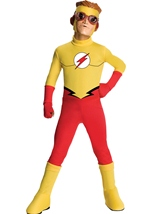 Young Justice Boys Flash Costume
