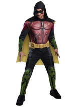 Batman Arkham Franchise Men Robin Deluxe Costume