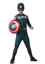 Captain America Winter Soldier - Boys Stealth Captain America Costume