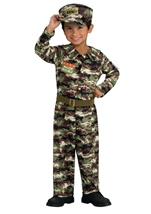 Boys Soldier Major Trouble Costume