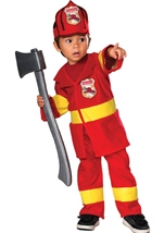 Toddler Boys Firefighter Costume