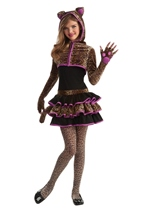 Leopard Sweetie Tween Girls Drama Queen Costume