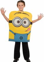 Despicable Me 2 Minion Dave Kids Costume