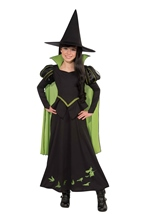 Wicked Witch Of The West Girls Costume