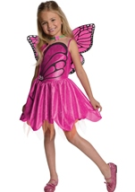 Barbie Mariposa Girls Costume