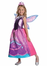 Barbie Mariposa and The Fairy Princess Deluxe Catania Girls Costume