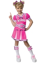 Barbie Cheerleader Girls Costume