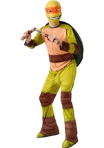 Teenage Mutant Michelangelo Boys Ninja Costume
