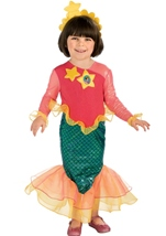Dora The Explorer Mermaid Dora Toddler Costume