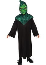 Boys Green Alien Halloween Costume