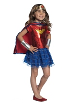 Wonder Woman Tutu Dress Up Girls Costume