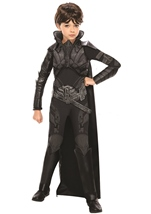 Man Of Steel Deluxe Faora Girl Costume