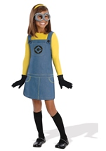 Despicable Me 2 Female Minion Girls Costume