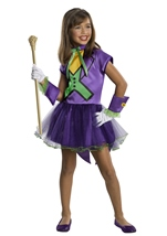 Joker Super Villain Girls Costume