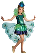 Cute Peacock Girls Costume