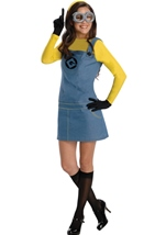 Despicable Me 3 Minion Woman Costume