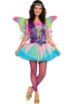 Renaissance Women Rainbow Fairy Costume