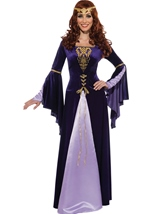 Deluxe Guinevere Women Renaissance Queen Costume