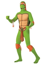 Michelangelo 2nd Skin Bodysuit Costume