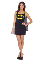 Batgirl Woman Tank Dress Costume