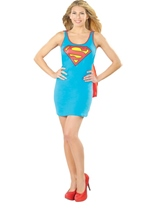 Supergirl Tank Dress Woman Costume