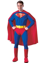 Deluxe Superman Muscle Men Costume