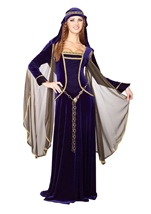 Renaissance Queen Deluxe Women Historical Costume