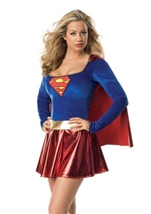 Super Girl Woman Costume