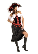 Queen Of The Sea Pirate Woman Costume