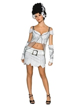 Bride Of Frankenstein Woman Costume