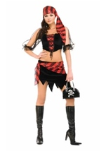 Captains Pirate Wench Woman Costume