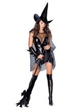 Sexy Witch Women Black Magic Moment Costume