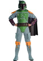 Boba Fett Star Wars Men Deluxe Costume