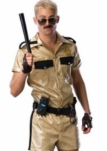 Deluxe Reno 911 Leiutenant Dangle Costume