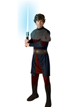 Anakin Men Animated Skywalker Star Wars Costume