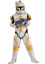 Clone Trooper Deluxe Commander Cody Men Star Wars Costume
