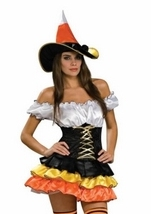 Candy Corn Cutie Women Costume