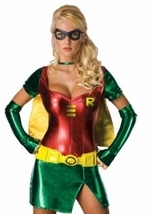 Robin Hood Comic Superhero Woman Costume