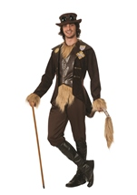 The Wizard of Oz Cowardly Lion Steampunk Men Costume