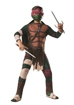 Ninja Turtles Movie Raphael Boys Halloween Costume