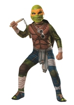 Ninja Turtles Movie Michelangelo Boys Halloween Costume