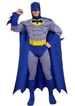 Bold And Brave Deluxe Batman Men Costume