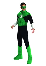 Green Lantern Muscle Chest Men Costume