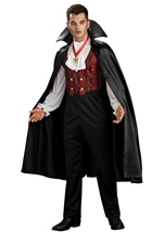 Transylvanian Vampire Men Adult Costume