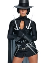 V For Vendetta Sexy Costume